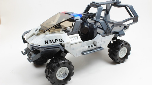 halo megaconstrux. superpack de 3 vehiculos warthogs
