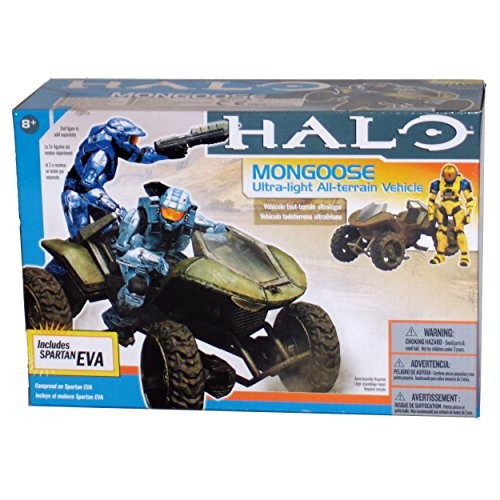 halo: mongoose atv con spartan eva