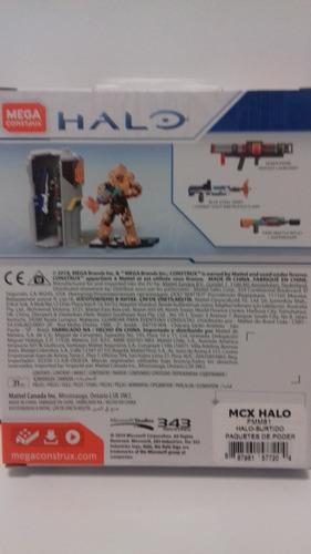 halo® power pack mega construx colección completa!!!