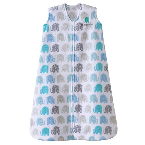 halo  sleepsack wearable blanket microfleece elephant textur