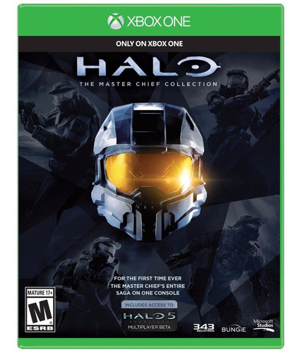 halo the master chief collection - xbox one (físico) id
