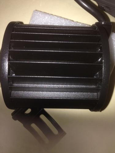 halogenos led 36 watts 1200 lumens carro moto camion par