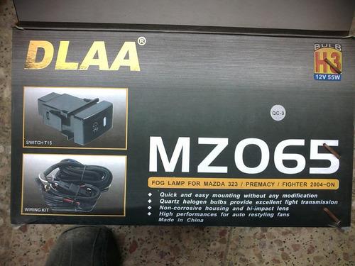 halogenos neblineros mazda b2200 b2600 kit completo sobrerue
