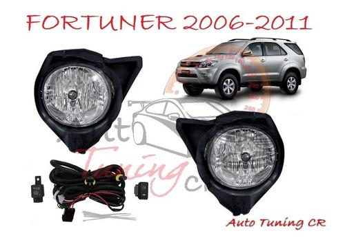 halogenos toyota fortuner 2006-2011