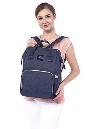 halova mochila multifuncion impermeable para pañales de via