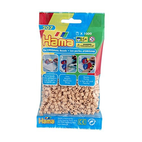 hama beads beige (1000 beads midi)