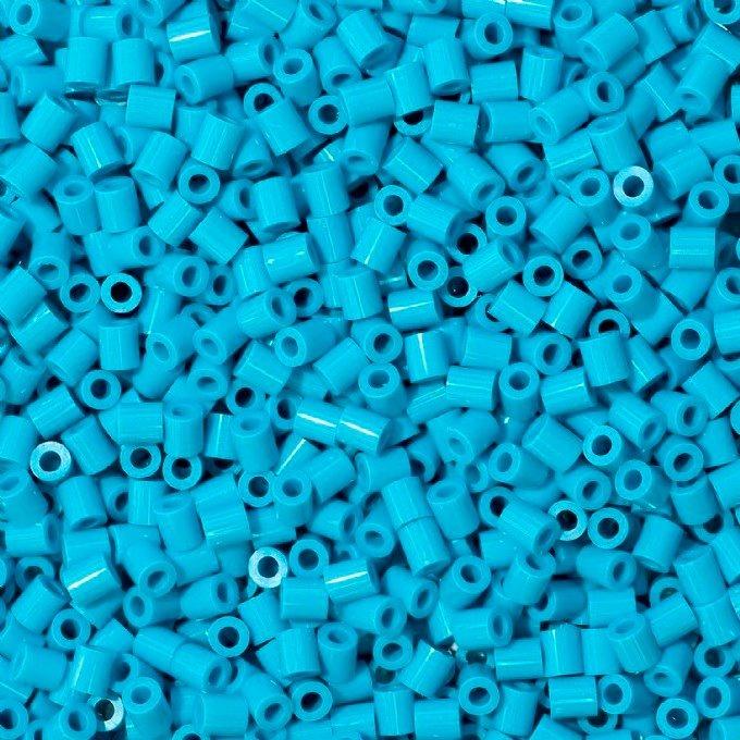Hama Beads Midi Perler 1000 Unid Color Azul Celeste Pixel