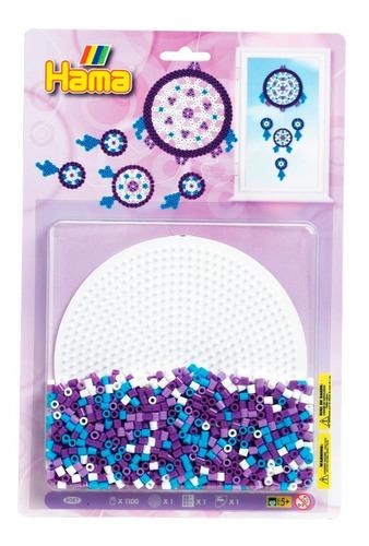 hama beads midi perler set atrapasueños pixel art