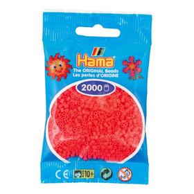 Hama Beads Mini Perler 2000 Unid Color Cereza Pixel Art