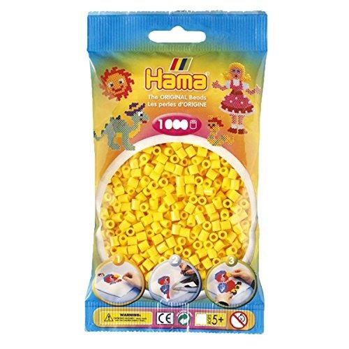 hama beads yellow (1000 beads midi)