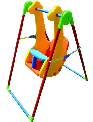 hamaca bebe portico columpio jirafita juegosol 4 a 36 meses