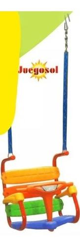 hamaca bebe portico columpio plegable 1 a 3 años juegosol