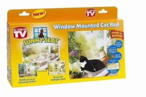 hamaca cama colgante para gato original sunny seat