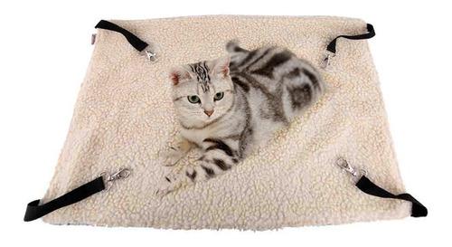 hamaca cama para gato diseño de puntos doble vista