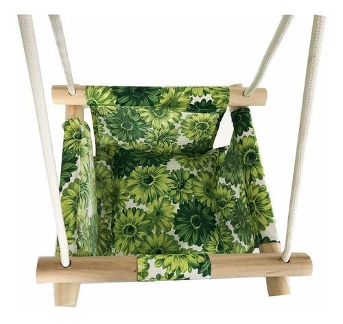 hamaca colgante de madera segura para bebés a niños en in