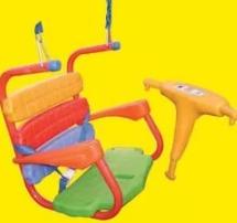 hamaca columpio bebe c/cadenas y ganchos 1 a 3 años juegosol