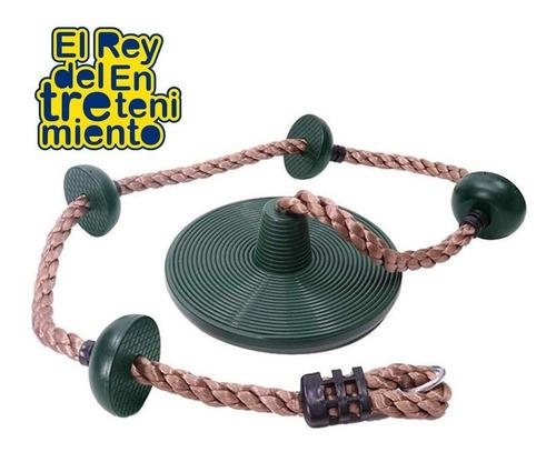 hamaca columpio infantil tipo cuerda p/ escalar niños el rey