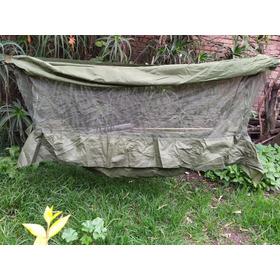 Hamaca Con Mosquitero Para Camping Tipo Militar