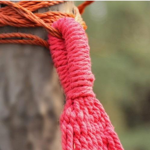 hamaca de algodón y poliéster para interior y exterior excel