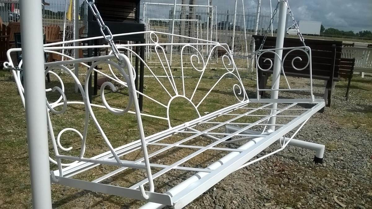 Hamaca de jard n de hierro la mejor calidad fabricantes - Mejor pintura para hierro exterior ...