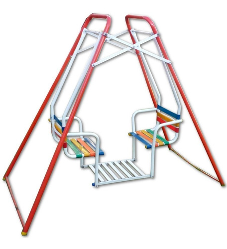 hamaca gemela mascota con asientos de cintas de pvc