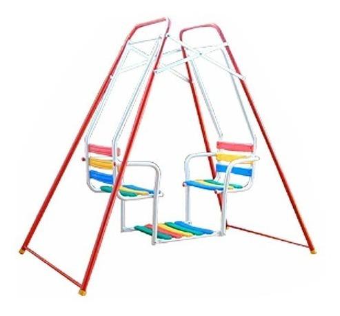 hamaca gemela para niños multicolor