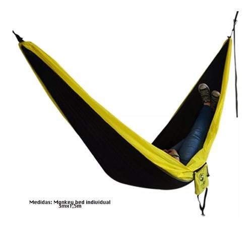 hamaca individual para camping excursion monkey bed ecology