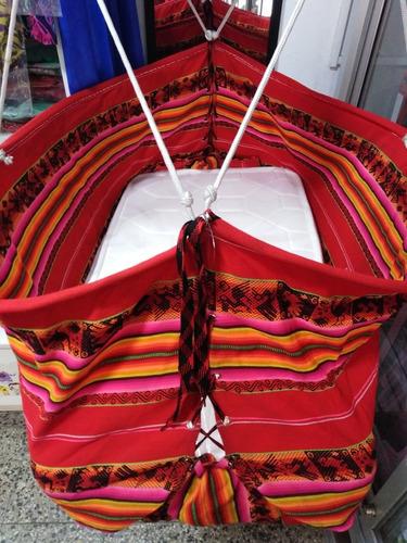 hamaca moisés cuna colgante para bebé. bodoquitos