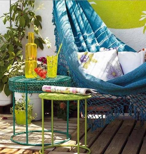 hamaca paraguaya - 2 plazas - cama paraguaya