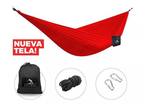hamaca paraguaya portatil compacta free wolf  el combatiente