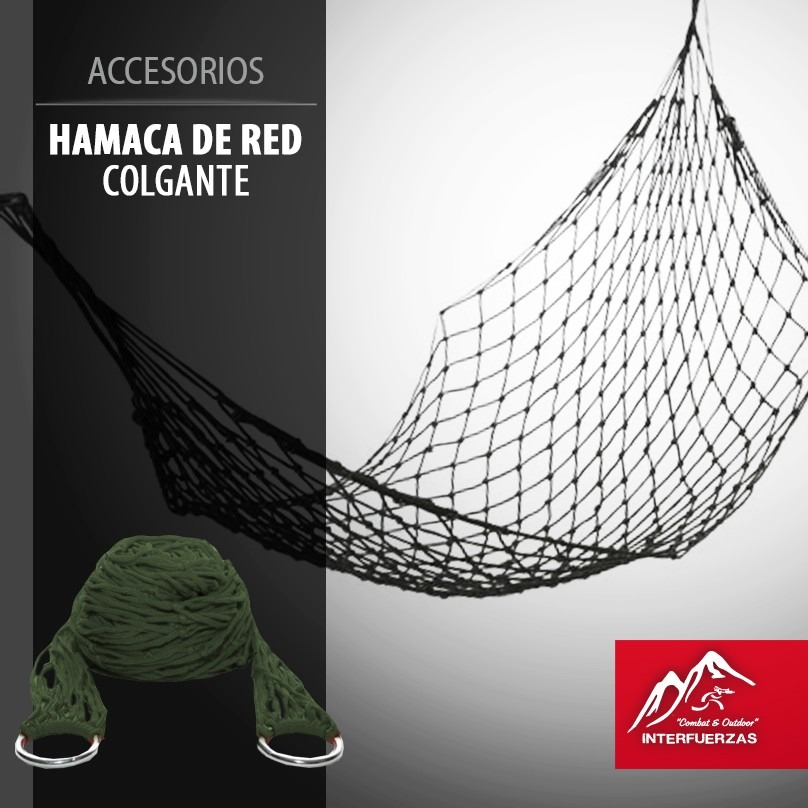 Hamaca Paraguaya Waterdog Colgante De Red Liviana 42500 en