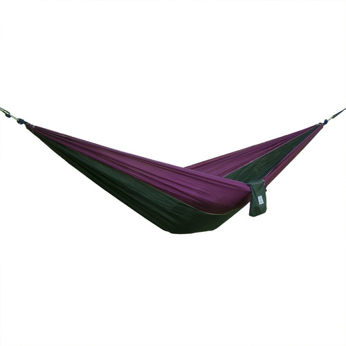 hamaca portátil en tela de nailon de paracaídas para viaj