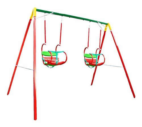 hamaca portico columpio x2 hamacas bebe 1 a 4 años