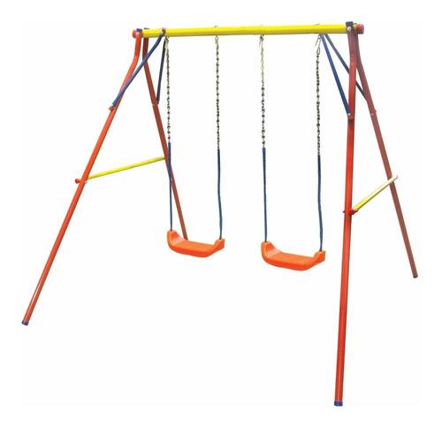 hamaca portico doble tabla plaza reforzado juegosol 3 a 8 añ