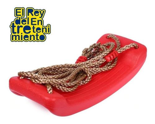 hamaca rígida infantil plástico p/ niños c/ cuerdas- el rey