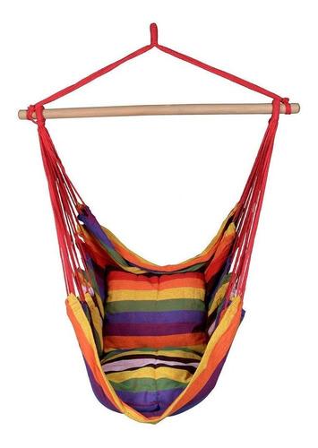 hamaca silla colgante columpio hogar jardín, varios colores
