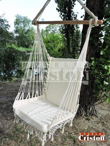 hamaca. silla colgante. super reforzada ! única !!