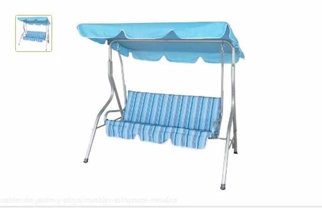 Sillon columpio silla columpio para jardn cama con dosel - Sillon columpio terraza ...