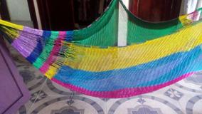 f297fa630 Vendo Hamaca Tejida Color Amarillo Purpura Para Bebe Y Adult en Mercado  Libre México