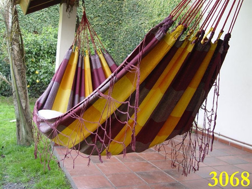 hamacas paraguayas con ganchos envío $120 o $140