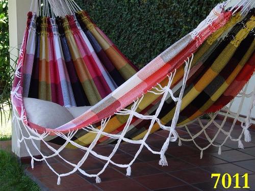 hamacas paraguayas linea multicolor  envio $120 o $140