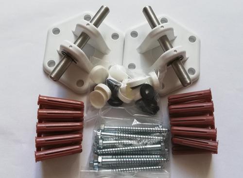 hamaqueros soporte para hamacas, instalación segura y facil.