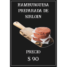 Hamburguesa De Sirloin