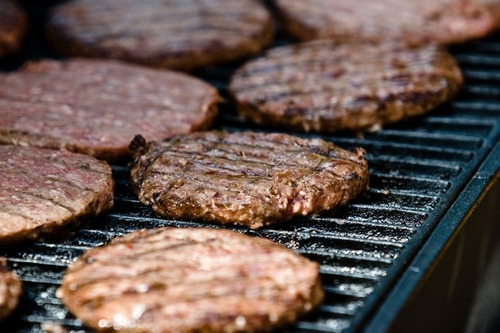 hamburguesas 100% carne de bufalo - unidad a $3500