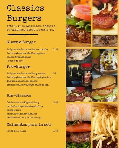 hamburguesas solidarias!