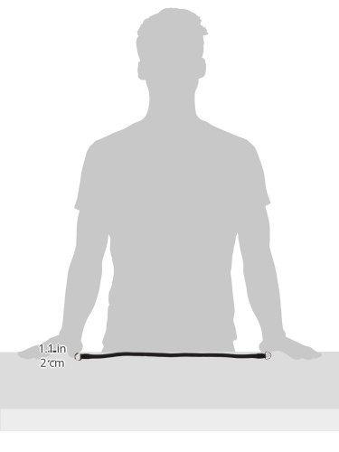 hamilton 828 bk de 5/16 pulgadas por 18 pulgadas de cuello