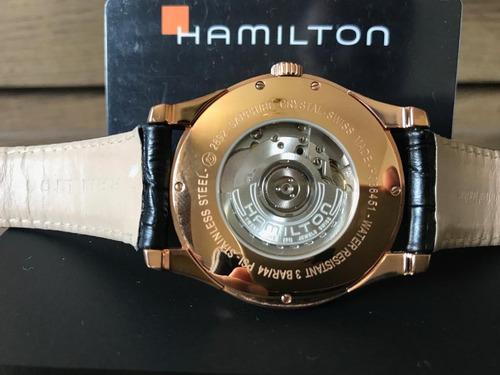 hamilton american classic jazzmaster h38645755 - automático