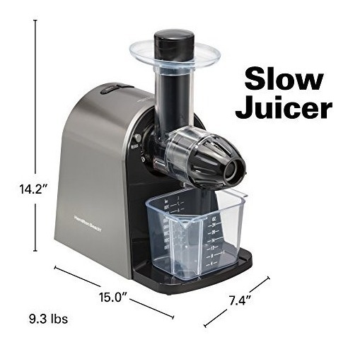 hamilton beach 67951 masticating juicer slow action eléctri