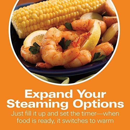 hamilton beach digital food steamer 55 quart 37530a