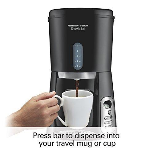 hamilton beach, fabricante de café de 10 tazas, máquina d...